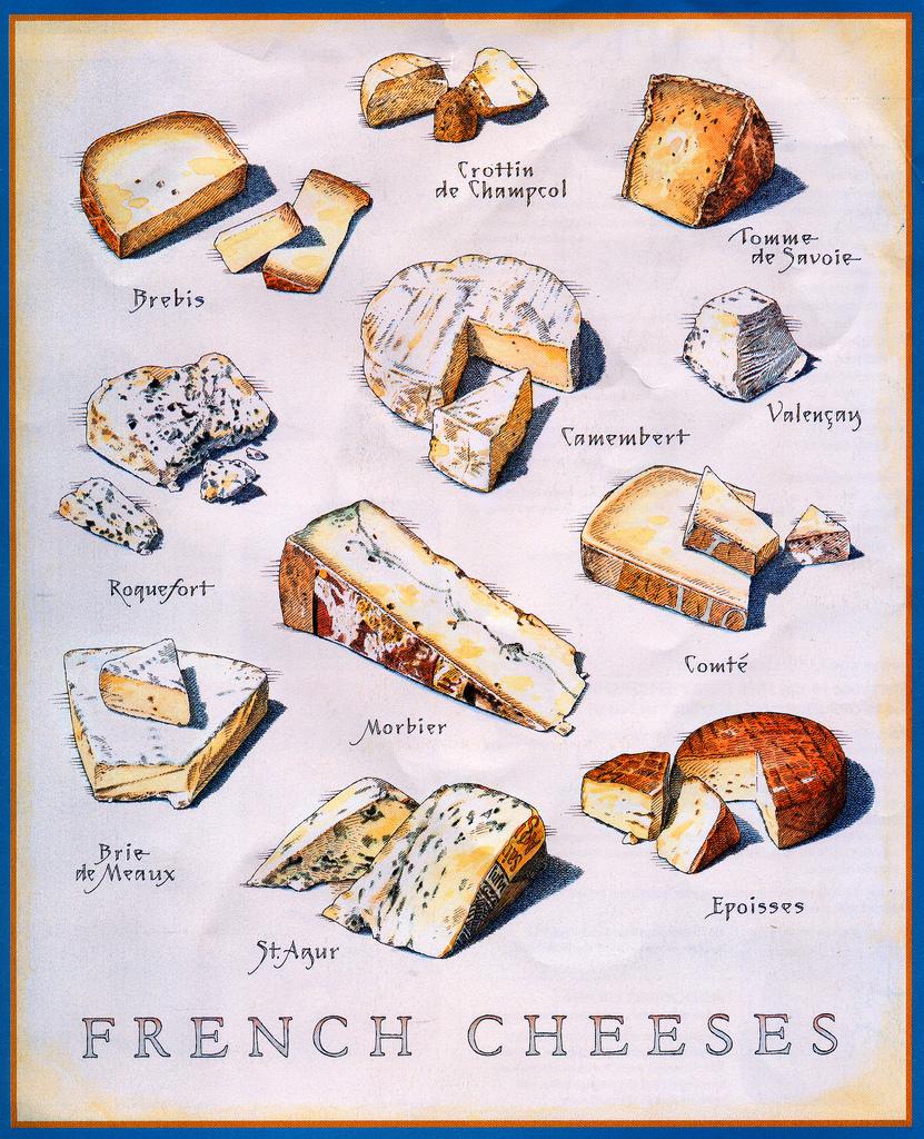 Recorrido por los quesos franceses for Guisos franceses