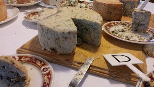 Concursos de quesos azules.