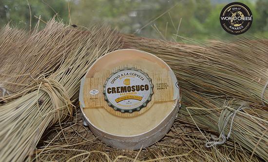El Cremosuco a la Cerveza de La Pasiega de Peña Pelada obtiene un Oro en World Cheese Awards.