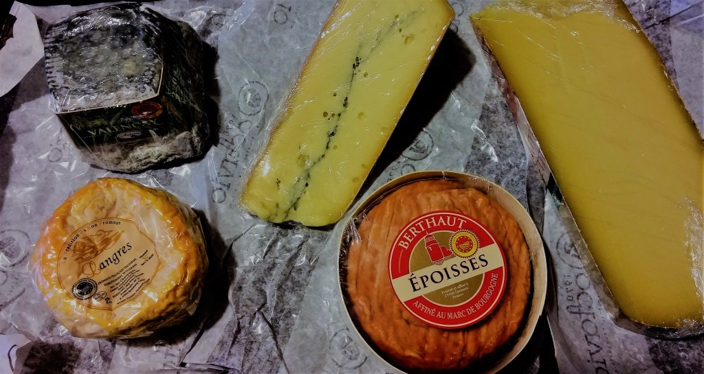quesos variados