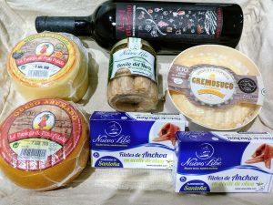 Regalar productos gourmet de Cantabria.