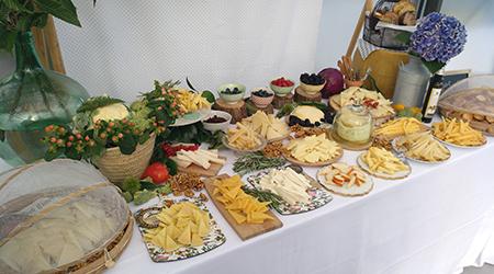 Mesa de quesos para bodas huerta cubas queso y recetas - Mesa de quesos para bodas ...