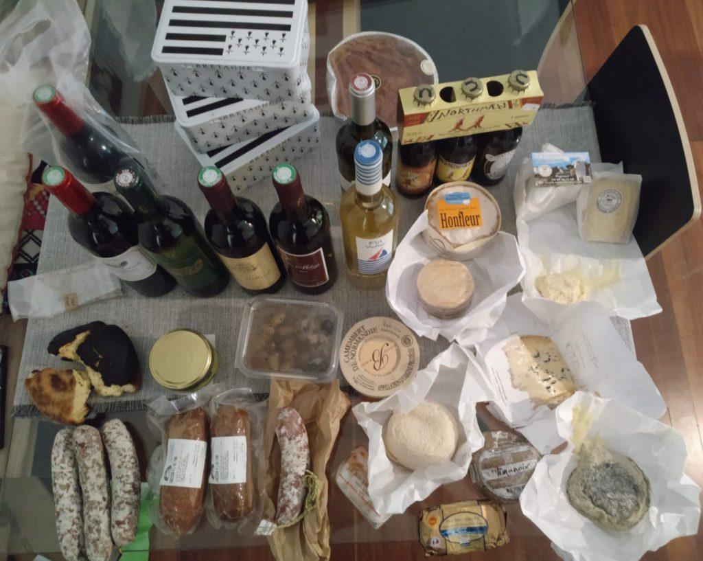 Compras gourmet en nuestra ruta por Francia.
