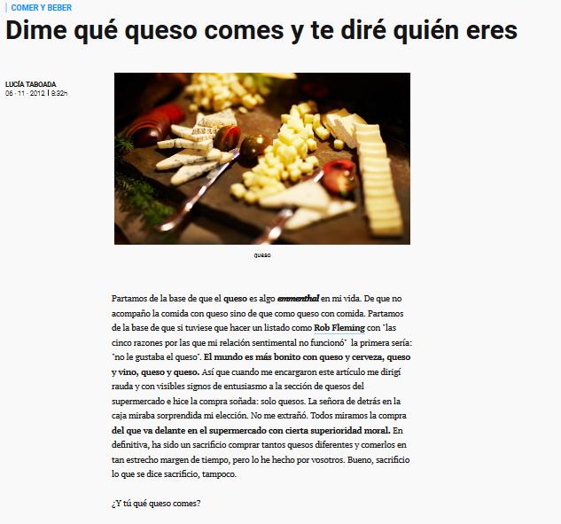 Artículo revista GQ.