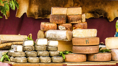 Los quesos están de moda.