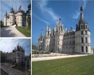Castillos del Loira en nuestra ruta francesa del queso.